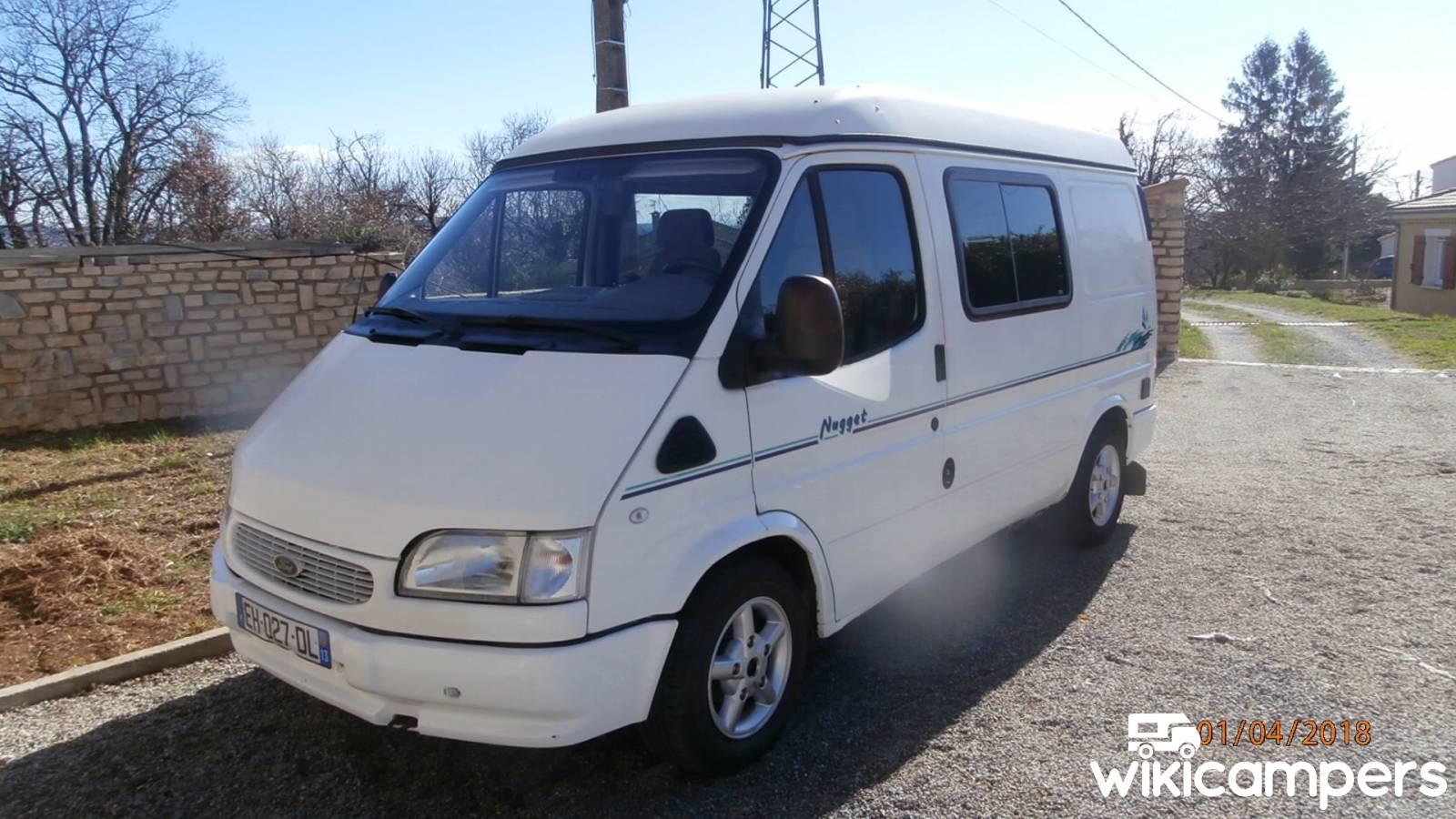 Rental van Carnoux-en-Provence (13) - Ford WESTFALIA Transit Nugget -  Wikicampers